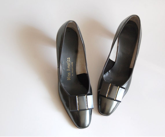 Patent Shoes / Patent Pumps / Embellished Shoes /  Patent Heels