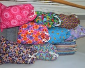 Laundry Bags for girls - GREAT for college dorms, camping, traveling, personal use