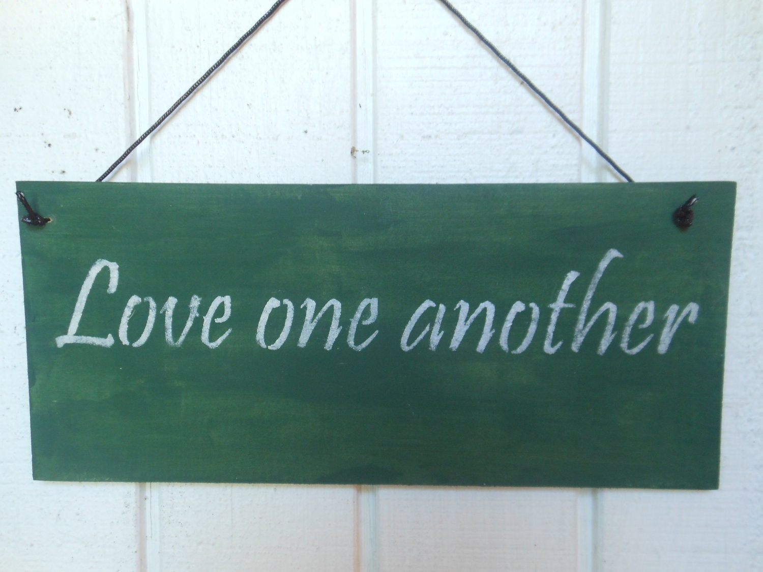 Love One Another: Love One Another Sign