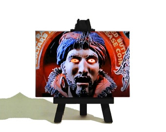 Zoltar Speaks - Tom Hanks 'Big' Classic  Movie Miniature Canvas and Easel Set. The Perfect Gift