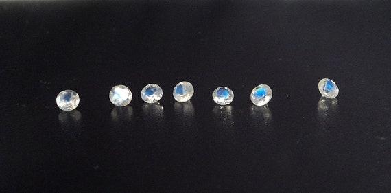 4mm Faceted Moonstones 10 pcs