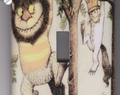 Where The Wild Things Are Light Switch Cover