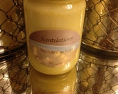 """This """"cakes"""" me happy.. Scented 12oz Soy Wax Candle"""