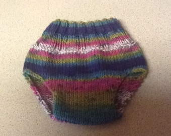 Knitted Diaper Cover (Soaker)