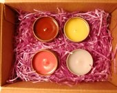 Free Shipping-Pick 4 Candles-4 Ounce Soy/Paraffin