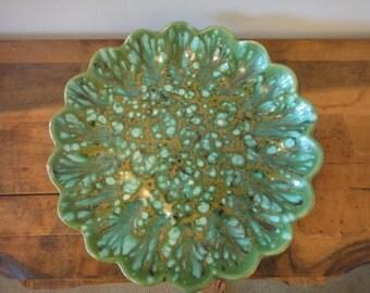 Vintage Mod Ceramic Serving Plate