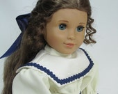 10% Off - 18 Inch Doll Clothes for American Girl Dolls - A Victorian Sailor Dress - Cecile, Marie-Grace, Addy, Samantha,