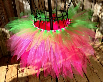 Strawberry Tutu - Spike Tutu - Rave Tutu - Available in Infant, Toddlers, Girls, Teenager, Adult and Plus  Sizes