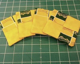 Oregon Ducks Fabric Coasters