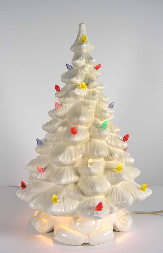 Vintage Ceramic Christmas Tree By Elanesattic On Etsy
