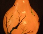 Halloween Haunted Tree Gourd