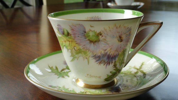 Reserved for Amber Vintage Royal Doulton Teacup Glamis Thistle