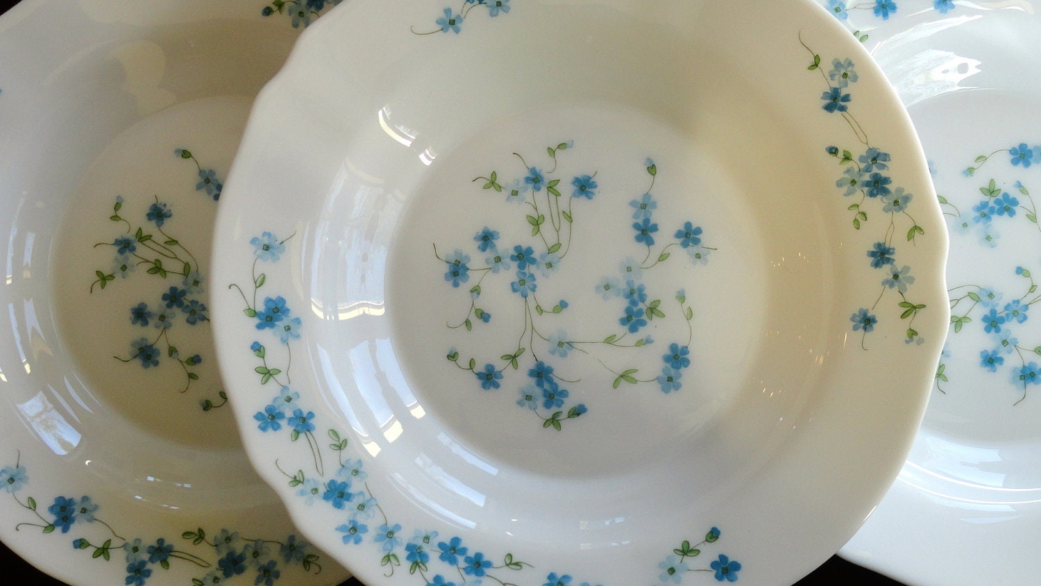 RESERVED Arcopal Soup Bowls from France Veronica