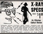 X-RAY SPEX    the Classic X-Ray Glasses