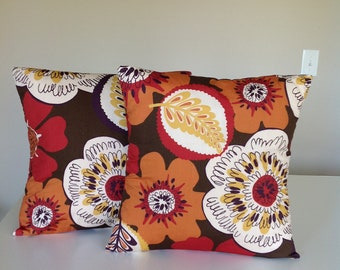 Decorative pillow covers, set of 2