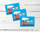 TRAIN Birthday Party THANK YOU Notes from The Celebration Shoppe