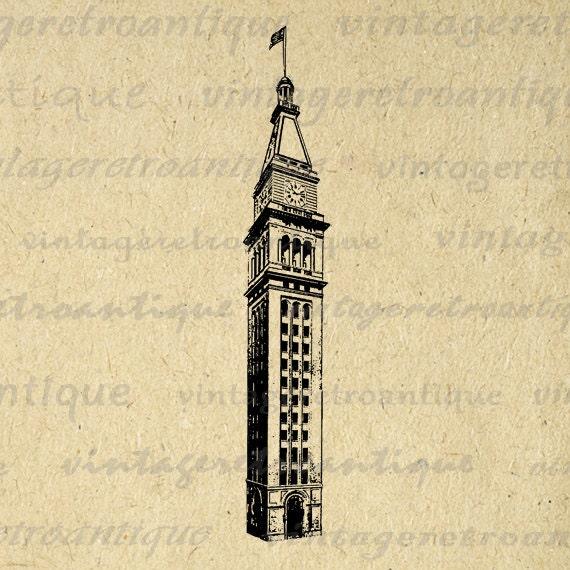 clip art clock tower - photo #47