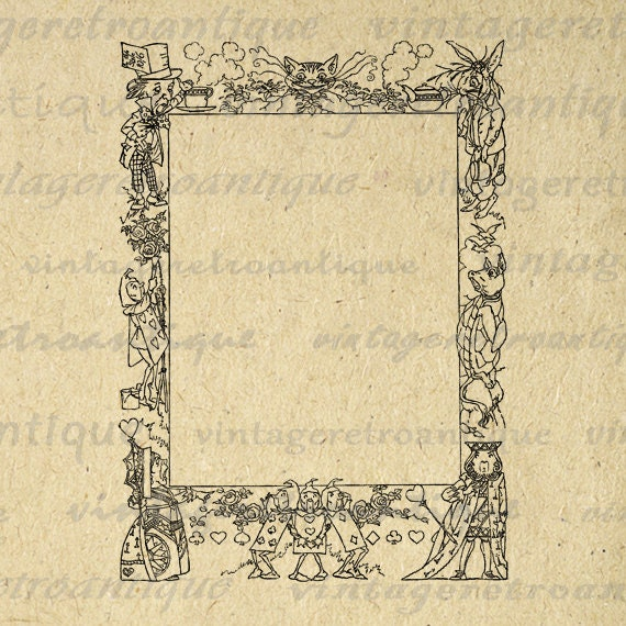 Border Frame Vintage Retro Antique