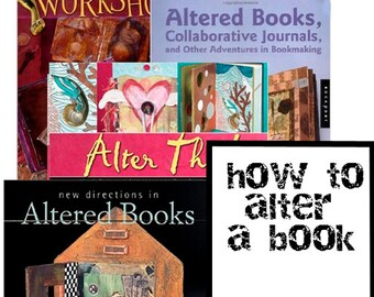 How To Alter A Book - Instructional Booklet