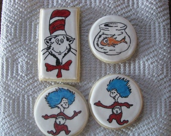 "Dr Seuss ""Inspired"" Cookies"