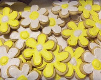 Daisy Sugar Cookies.