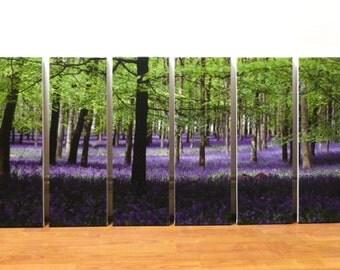 6 set canvas art size 75 x 150 cm (overall size)