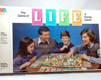 The Game of Life from Milton Bradley 1985 COMPLETE (read description)
