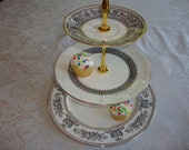 3 tier cake or cupcake stand