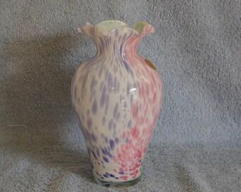 Murano Style Glass Vase