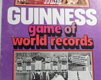 1975 Guinness Game of World Records by Parker Brothers