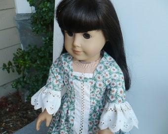 American girl doll, handmade dress, doll outfit, Pilgrim, Thanks giving, Colonial Dress,