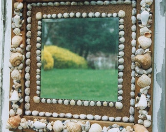 Seashell Antique Mirror