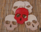 Wooden Skull Cut-Out