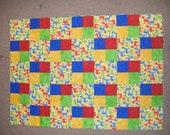 Horse patchwork quilt