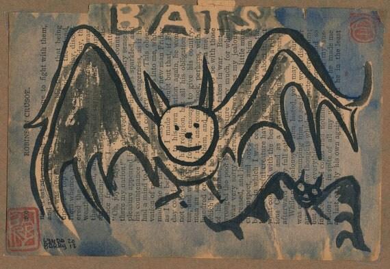Bats on Robinson Crusoe