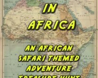 African Safari Themed Treasure Hunt - Lost in Africa
