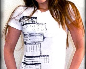 Cityscape Graphic Tee - Women's