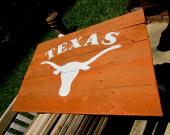 University Of Texas Rustic Sign
