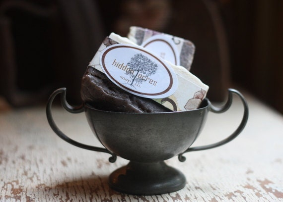Peppermint Coffee Soap - Last One Available