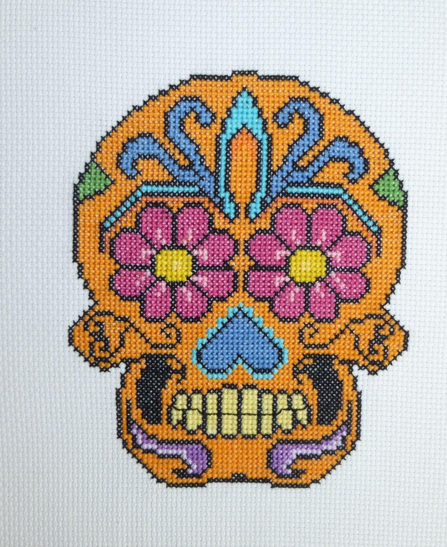 Схема черепа из бисера фото 362