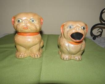 Luterware Dogs Cream and Sugar MIJ