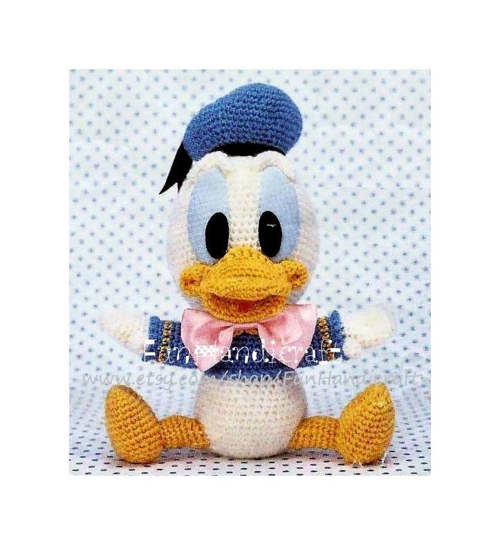 Disney Donald Duck Baby Amigurumi Pattern E-book by ...