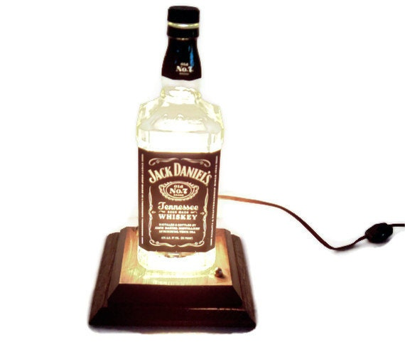 Jack Daniels Light Man Cave Table Lamp Eco Friendly Gift
