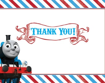 Thomas the Train Thank You-instant download