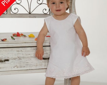 "Christening gown/evening dress ""Reka"" (size 56-86),"