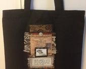 Art Quilt Tote bag