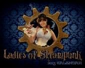 Ladies of Steampunk SIGNED CALENDAR