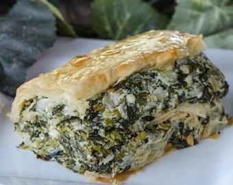 Spinach Pie Greek Spanakopita Recipe