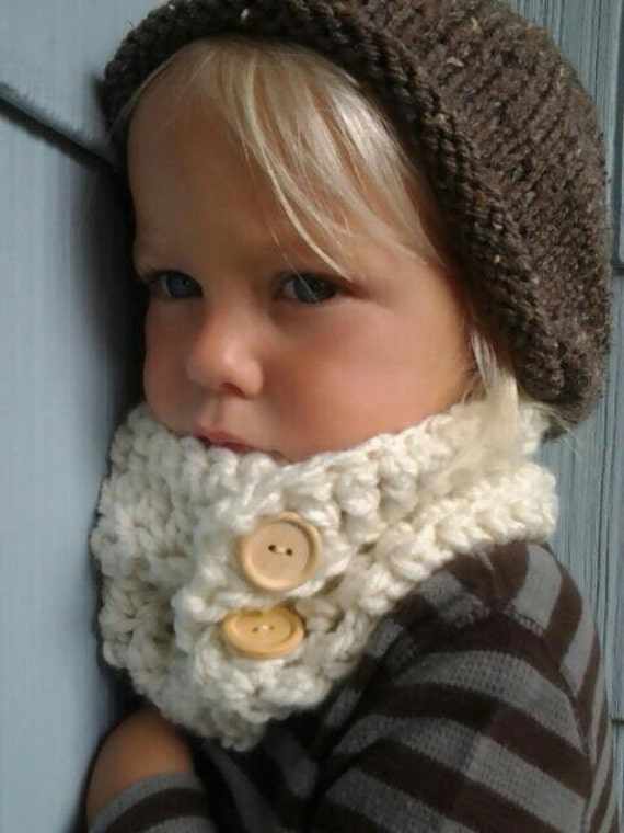 Items similar to Crochet Cowl. Kids Cowl. Crocheted ...