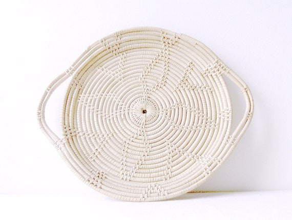 Native American Hopi Handwoven Basket  Wall Plate / Wall Hanging